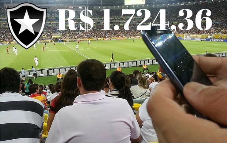 Trader Esportivo – R$1.811,08 reais no Jogo Do Botafogo