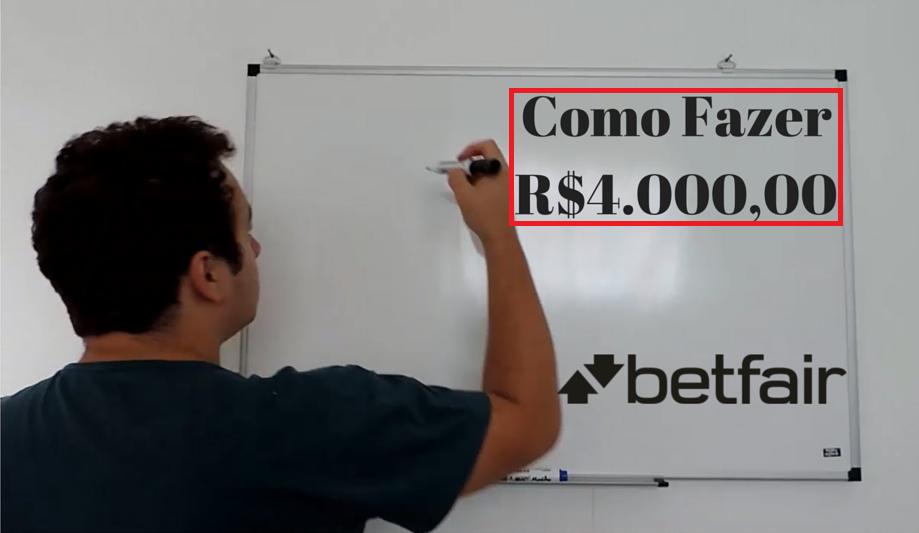 Trader Esportivo – Como Fazer R$4.000,00 Reais Investindo em Futebol?