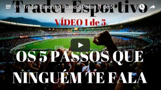Trader Esportivo – Curso Gratuito de Investimento em Futebol [PARTE 1 de 5]