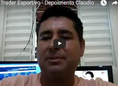 Trader Esportivo – Depoimento Claudio Para Dener Santos
