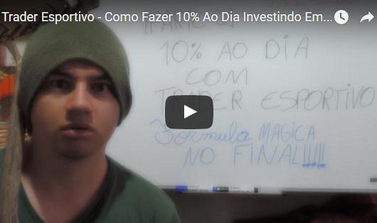 Trader Esportivo – Como Fazer 10% Ao Dia Investindo Em Futebol? Vídeo Passo a Passo [PARTE 2/3]