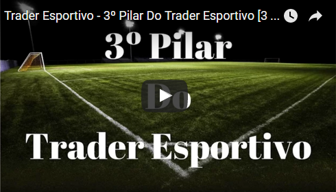 Trader Esportivo – 3º Pilar do Trader Esportivo [3 de 5]