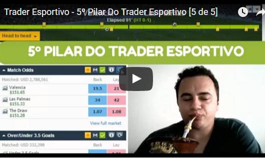 Trader Esportivo – 5º Pilar do Trader Esportivo [5 de 5]